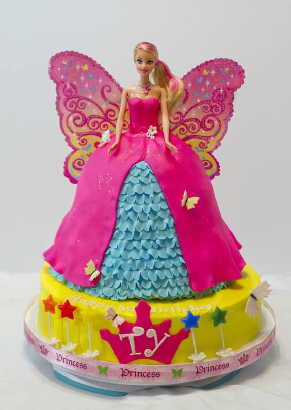 Barbie Fairy Cake Sweets By Selina Dallas Custom Cakes