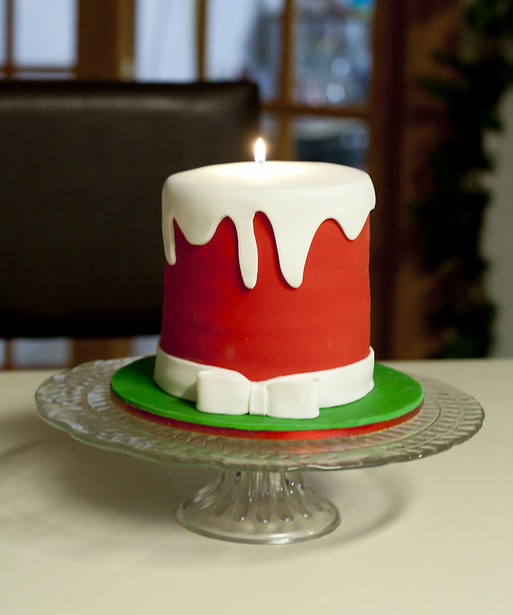 Christmas Candle Cake Images : A Christmas Candle You Can Eat! - Sweets By Selina ...